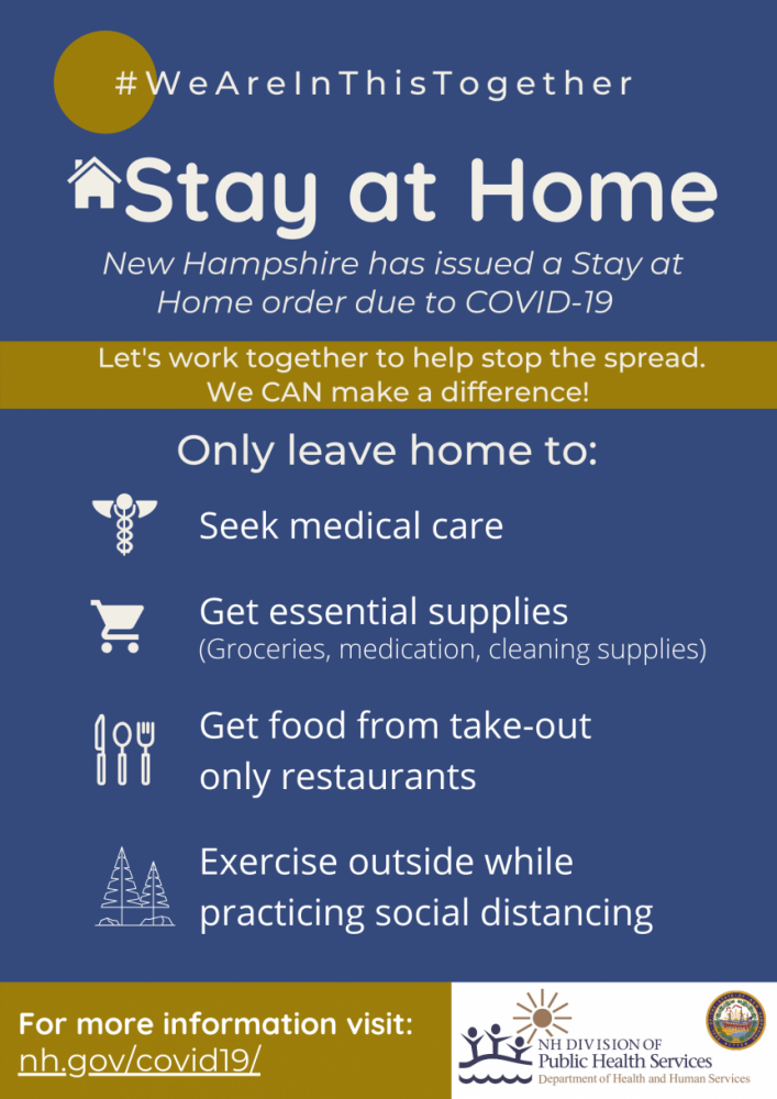 Stay at home!