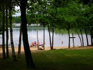 Resident Beach at Country Pond, Newton