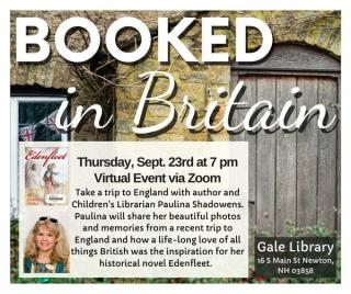 booked in Britain